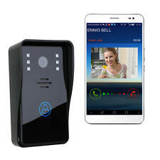 Wireless WiFi Remote Video Camera Door Phone Home Security Intercom IR Doorbell