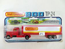 MATCHBOX CONVOY 900 SERIES TP24 'PETERBILT BOX TRAILER'. VINTAGE. MIB/BOXED.