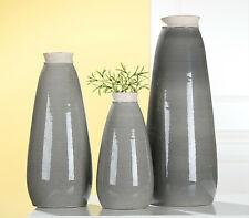 "Keramik-Vase   Höhe: 35cm  ""GILDE""    NEU"