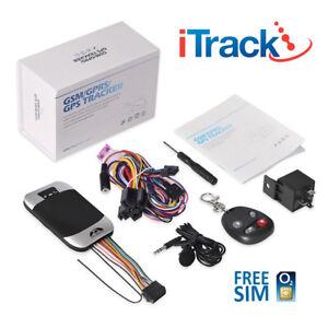 GPS TRACKER VEHICLE CAR VAN FLEET AUTO CAR TRACKING DEVICE - iTrack GPS303G