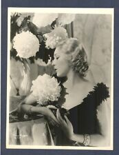 GLAMOROUS BLONDE MARY PICKFORD - NEAR MINT CONDITION HURRELL LINEN-BACKED PHOTO