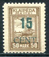 MEMEL 1923 234IV PF I * WELTRARITÄT AUFLAGE 7 STÜCK ATTEST BPP (S7293