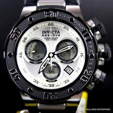 Invicta Reserve Subaqua Sea Dragon Swiss Black White Chronograph 52mm Watch New