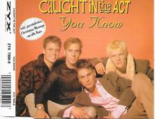 CAUGHT IN THE ACT - You know CDM 4TR Europop 1995 (Zyx) Germany