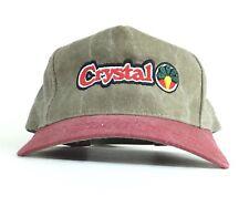 Crystal Baseball Cap Hat Adjustable Men's Size
