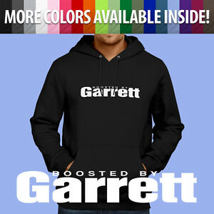 Pullover Hoodie Jacket Sweater Boosted By Garrett Turbo Spool Turbocharger GTX