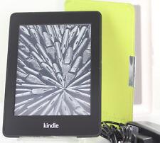 Amazon Kindle Paperwhite WiFi + Free 3G B01D***  EY21 5th Generat + Case Grün/We