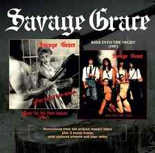 Savage grace-after the Fall from Grace & ride into the night CD remastered +3