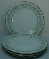 NORITAKE china SAVANNAH pattern 2031 Bread Plate Set of Four (4) - 6-3/8""