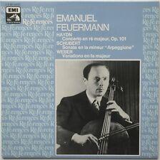 HAYDN/SCHUBERT/WEBER Feuermann Cello EMI/VSM References 2C051-43372 LP NM