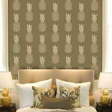 Pineapple Allover Stencil - Reusable Tropical Design Stencils for DIY Wall Decor