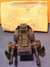 Vintage GI Joe Cobra ASP Assault System Pod Vehicle Instructions