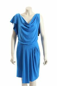 NEW Vince Camuto -Size 10- Blue Cocktail Dress in Matte Jersy-RRP:$128.00