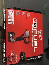 "Milwaukee M18FMTIWF12-502 1/2"" 610Nm Mid-Torque Impact Wrench with Friction Ring"