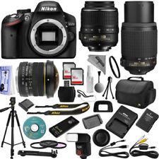 Cámaras digitales negros D3200 Nikon D