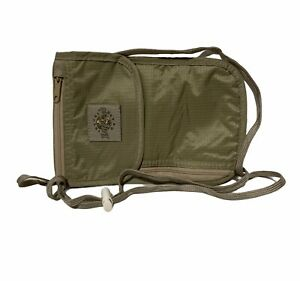 Unisex Adult Eagle Creek EC-40023 Travel Gear Crossbody Wallet Olive Green