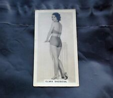 CLARA SHERIDAN 1937 CARRERAS FILM STARS CIGARETTE CARD A SERIES COLLECTABLE VGC
