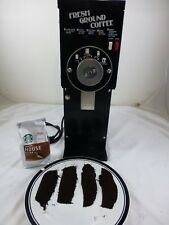 GRINDMASTER 810a Whole Bean Coffee Grinder - Tested Working - Light Rust Side