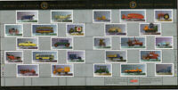 HISTORIC VEHICLES-5 = Retro auto = Minisheet of 25  Canada 1996 MNH #1605 (5/5)