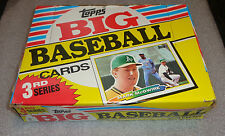 mint box Topps Big Baseball Cards 3rd series 1988 Mark McGwire