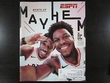 ESPN The Magazine 5/7/18 DeMar DeRozan Kyle Lowry Toronto Raptors