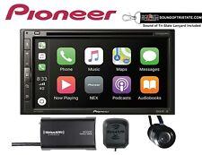 New listing Pioneer Avh-2500Nex Dvd Receiver Satellite Radio & Bullet Style Backup Camera