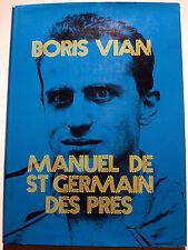VIAN/MANUEL DE ST GERMAIN DES PRES/ED DU CHENE/1974/ETAT DE NEUF