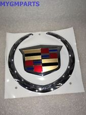 "CADILLAC ESCALADE EXT TAIL GATE EMBLEM ""WREATH AND CREST"" 2002-2006 NEW 88980746"