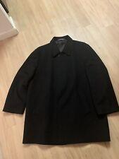 Saks Fifth Avenue Colombo Borgosesia Wool/Cashmere Blend Overcoat US 48 R  $1450