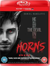 HORNS Daniel Radcliffe BLURAY Horror in Inglese NEW .cp