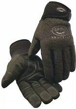 Cold Protection Gloves Heatrac® Lining, Neoprene Cuff Charcoal XL Fleece Comfort