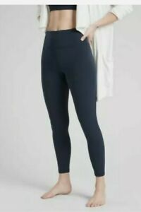 ATHLETA Elation 7/8 Tight Leggings XS PETITE XSP Navy Yoga Pants