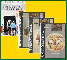 Ray Hunt Colt Starting, Turning Loose, Back to Beginning, Trailer Loading - DVD