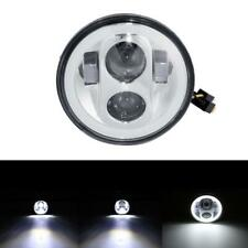 "5.75"" 5 3/4 Clear Projector LED DRL For Yamaha Big Wheel 200 W200E Electric Star"