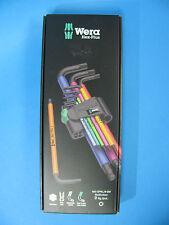 Wera Winkelschlüsselsatz 950 SPKL/9tlg SM N SB multicolor metrisch