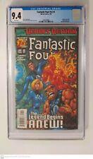 Fantastic Four # v3 #1 CGC 9.4 Davis & Farmer cover Marvel Comics 1998