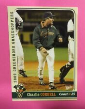 2009 MultiAd Sports, Greensboro Grasshoppers, Pitching Coach - CHARLIE CORBELL