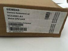 NIB New Siemens Cerberus Pro VCC2001-A1 Fire Alarm Voice PCU Card S54400-A401