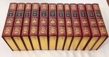 EASTON PRESS KINGS & QUEENS OF ENGLAND 12-Vol Set LEATHER Henry George William +