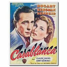 Casablanca 24x32inch 1942 Old Classic Movie Silk Poster Pub Shop Wall Decals