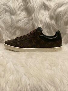 Authentic LOUIS VUITTON Monogram Men Sneakers Athletic Shoes Size 11US (10 UK)