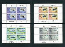 BELIZE 2006 Anniversary Europa stamp Set of 4 Sheetlets SG 1332-1335 MNH (S*-10)