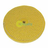 Sisal Buffing Wheel 150mm - Buffing Wheel Hard Wheel For Burnishing New