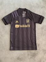 Authentic New Adidas LA Los Angeles FC MLS YouTube Soccer Jersey Size S Mens