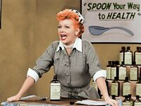 I Love Lucy Lucille Ball Vitameatavegamin Drunk Lucy 8x10 Photo