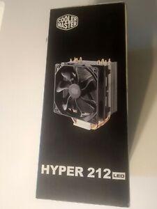 Dissipatore per CPU Cooler master Hyper 212 LED, 4 heat pipes per cpu Intel e AM