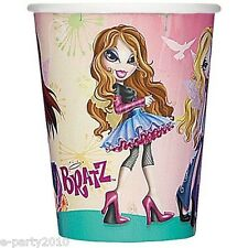 (8) BRATZ FASHION PIXIEZ 9oz PAPER CUPS ~ Birthday Party Supplies Beverage Drink