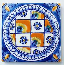 "Mediterranean Ceramic Tiles - DeRuta design - 4x4"""
