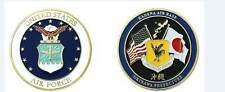 "KADENA AIR FORCE AB BASE OKINAWA PREFECTURE JAPAN 1.75"" CHALLENGE COIN"