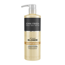 4 x John Frieda Sheer Blonde Highlight Activating Moisturising Conditioner 500ml